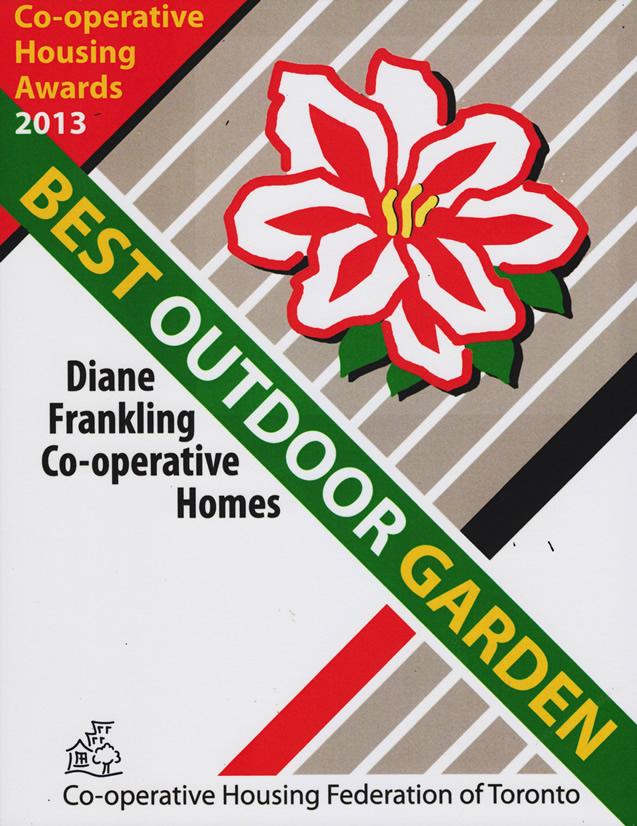Outdoor Garden Award 2013